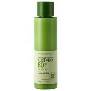 SALE!! NATURE REPUBLIC ALOE EMULSION1