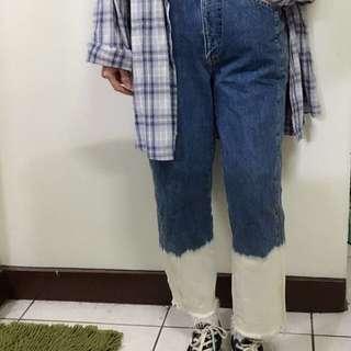 🚚 刷色牛仔褲