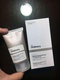 ORDINARY vitamin c suspension 23%