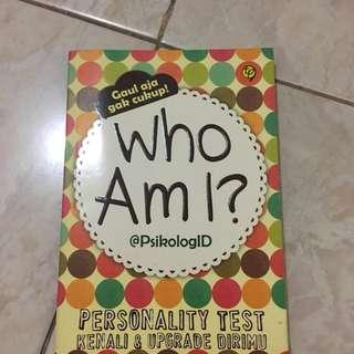 who am i? @psikologiid