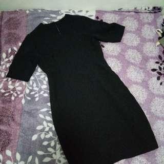 Office dress Black