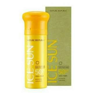 Nature republic ice sun puff