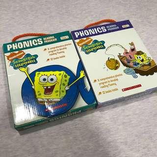 Spongebob Phonics box set
