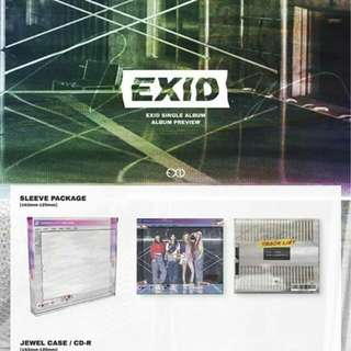 EXID - Single Album [Do It Tomorrow]