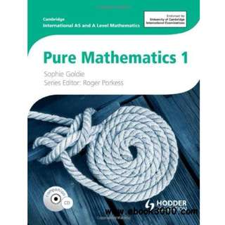 Pure Mathematics 1 A Levels Textbook