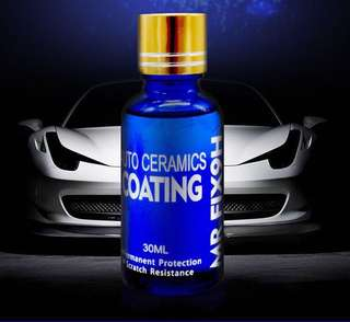 Super Ceramic Car Coating.
