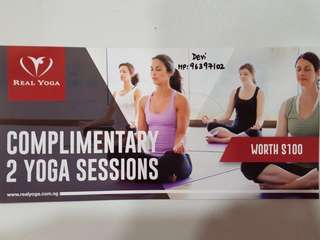 2 Free Complimentary Yoga Sessions