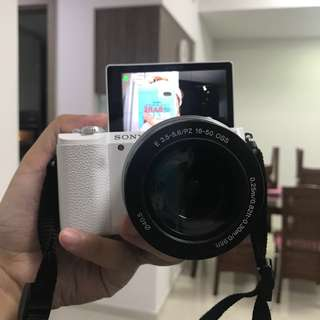 Sony a5100 mirrorless camera