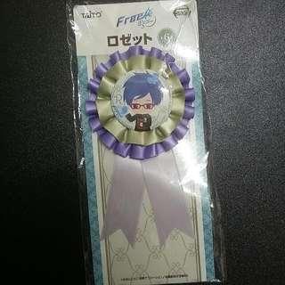 [OFFICIAL] FREE! Rei Ryugazaki Ribbon Pin