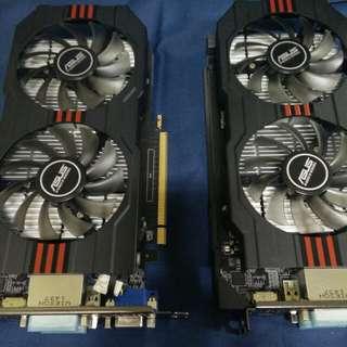 Asus Nvidia GT740-DFOC-OC-2GD5 DDR5 128Bit Graphic Card