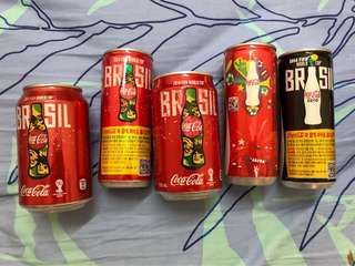 Coca-Cola World Cup Brazil Can