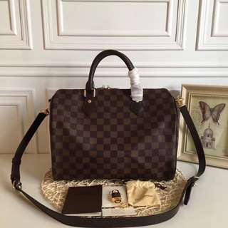 Louis Vuitton Speedy Bandou 30 Damier Ebene canvas
