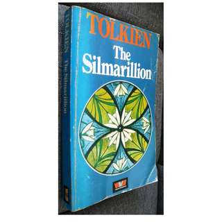 The Silmarillion Book by J. R. R. Tolkien (Middle-Earth; Lord of the Rings)