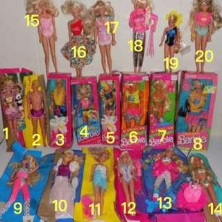 特價出清 全新古董芭比肯尼Barbie ken 美泰兒