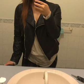 Faux leather jacket 10