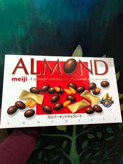 明治Meiji almond
