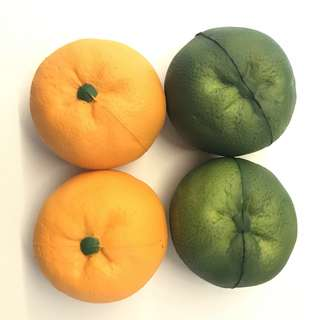 *+:。.。 oranges & limes squishies 。.。:+*