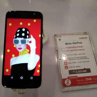 Cicilan 0% Tanpa Kartu Kredit Hp Moto G5s Plus
