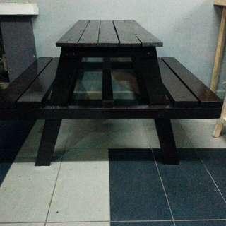 Garden picnic table set