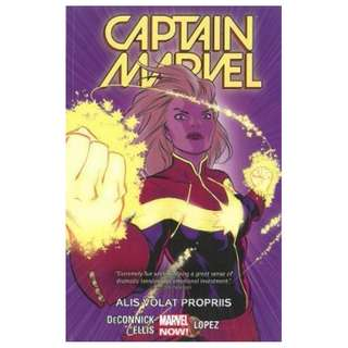 (Brand New) Captain Marvel Alis Volat Propriis Tpb : Volume 3  By: Kelly Sue DeConnick, David Lopez (Illustrator) Paperback