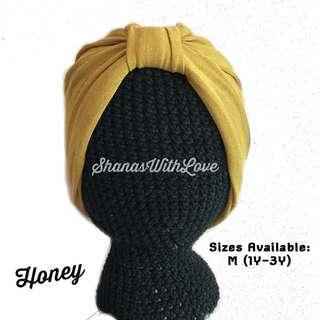 Basic Baby Turban - Honey