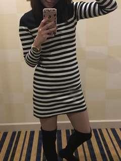Pre-loved Topshop turtleneck dress
