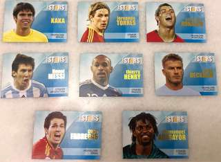 World Football players cards