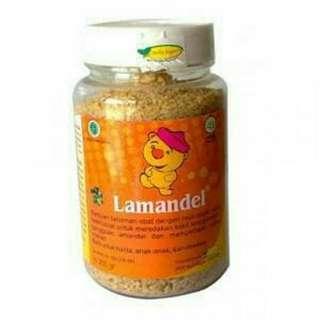 Lamandel Botol / Herbal Amandel & tenggorokan