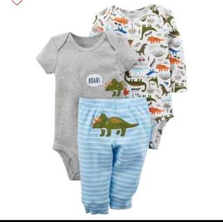 *18M* BN Carter's 3-Piece Little Character Set For Baby Boy (