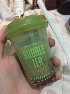 Etude Bubble green tea sleeping mask
