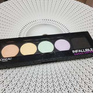 Loreal Infallible Total Cover Correcting Palette