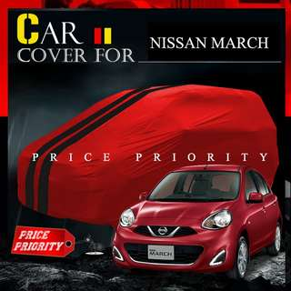 Cover Mobil  Nissan March / Body Cover Premium / Sarung Mobil Nissan March Warna Waterproof