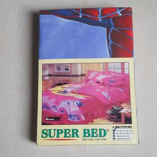 Sprei Super Bed motif Spiderman