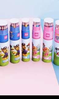 PO Paw Patrol Color pencil set brand new 12/18/24/36 Colours