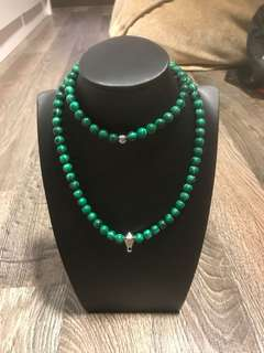 Amulet Necklace Malachite
