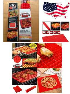 Pyramid silicone cooking mat