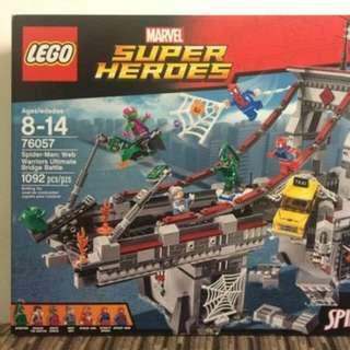 LEGO 76057 Web Warriors Ultimate Bridge