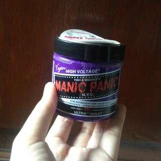 Manic Panic Classic Ultra Violet - Cat Rambut Ungu Vegan Berkualitas