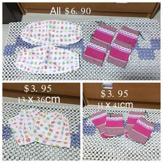 (Used)Set Of 4 Babies Pillows Case