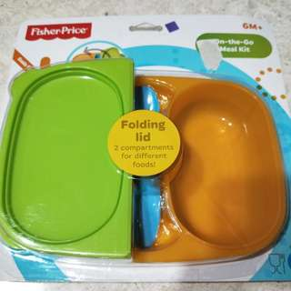 Fisher Price On-the-Go Meal Kit