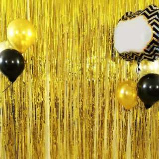 PREORDER Party Fringe Curtain