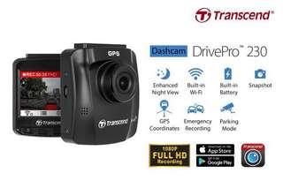 Transcend DrivePro 230 Dash-Cam
