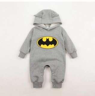 P/O Batman baby jumpsuit