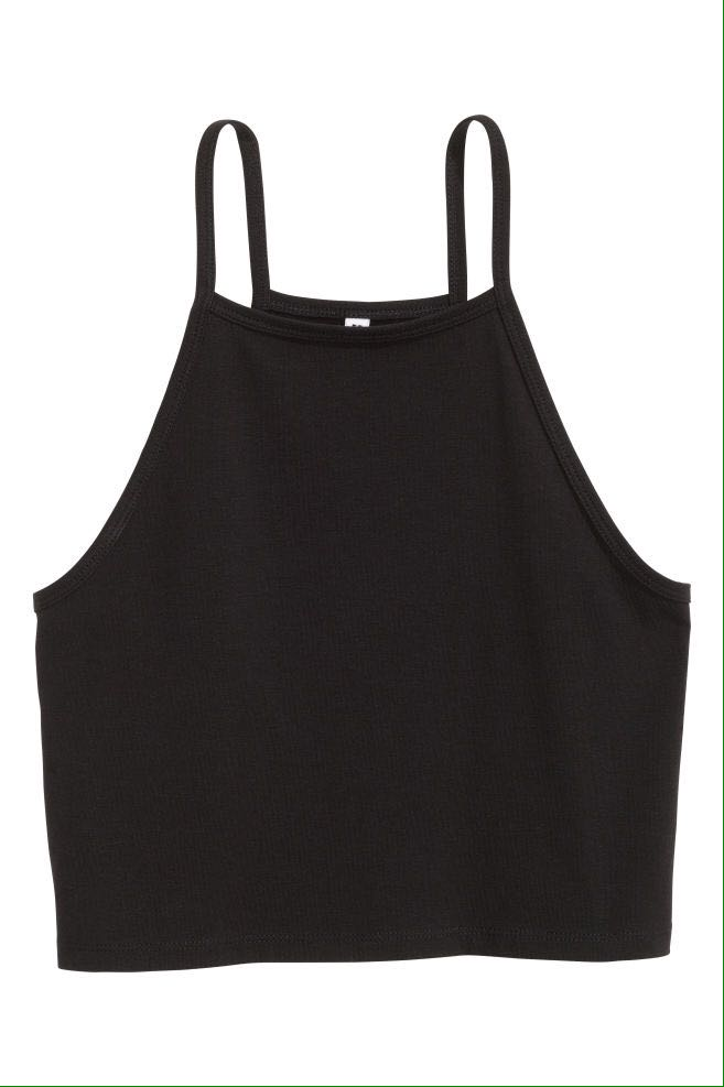 2x Cropped jersey