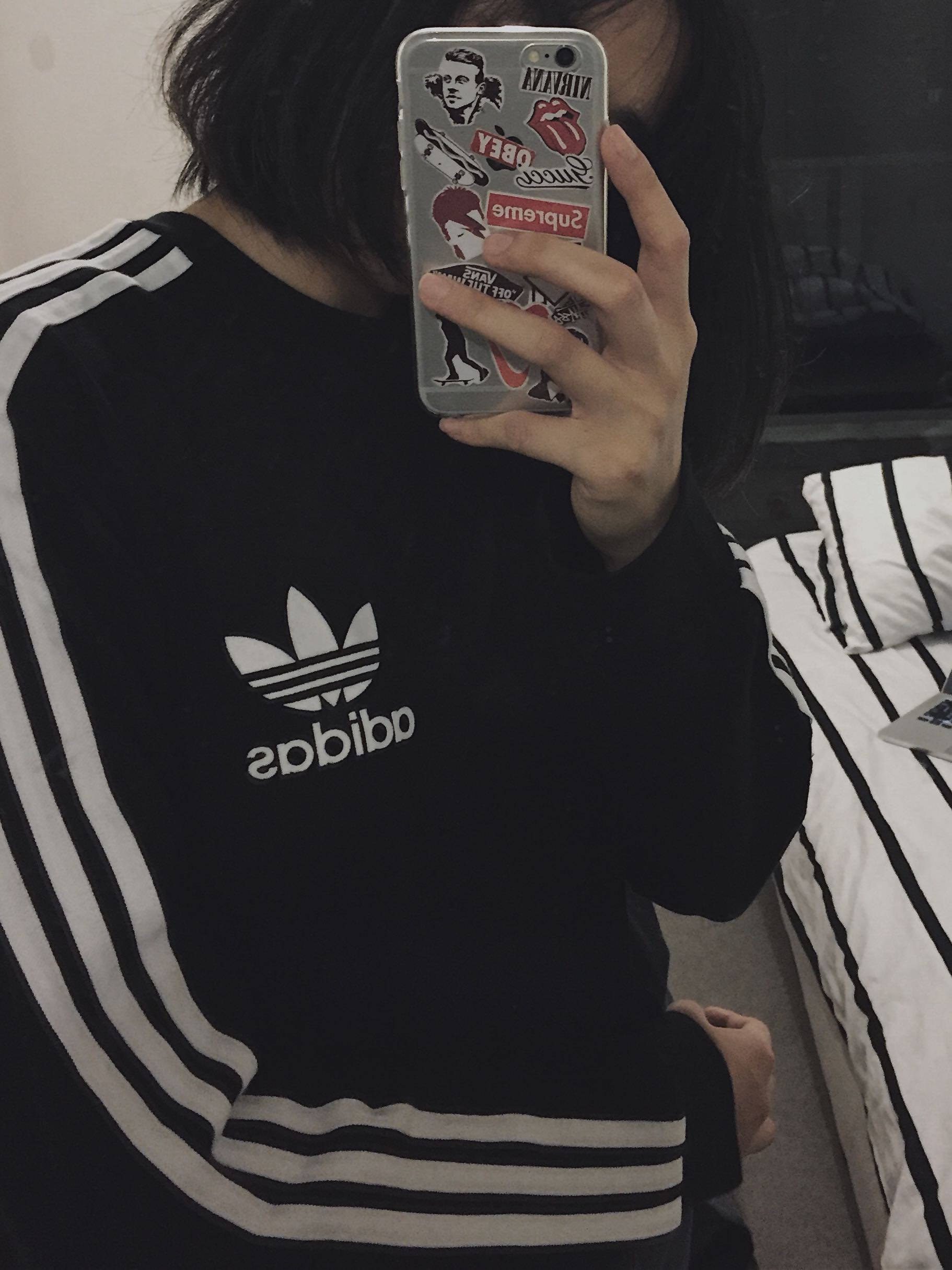 Adidas Original Long Sleeves Tee