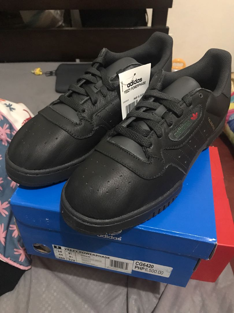 2bcfad12c Adidas Yeezy Powerphase Black