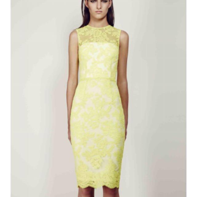 ALEX PERRY Abelle Lace Dress RRP$700