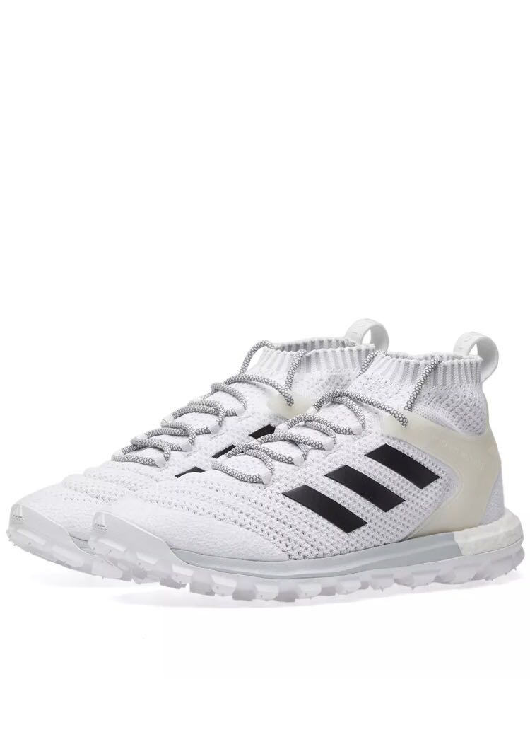 sale retailer 36610 6ecb7 Authentic GOSHA RUBCHINSKIY X ADIDAS COPA PRIMEKNIT BOOST MID SNEAKER White,  Mens Fashion, Footwear on Carousell