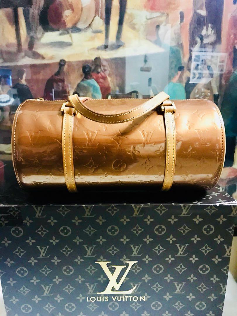 Authentic Vintage Louis Vuitton Vuitton Vernis Bedford Bronze