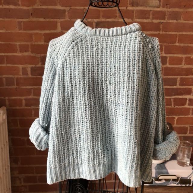 Blue Sweater H&m